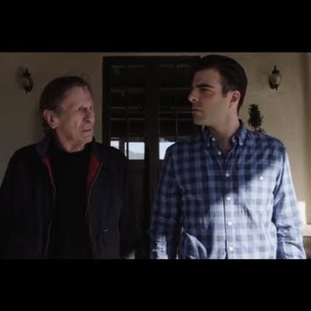 "Zachary Quinto vs. Leonard Nimoy: ""The Challenge"""