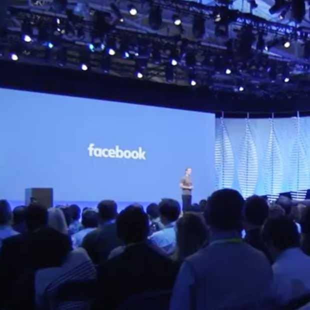 Zo volg je Facebook F8 live