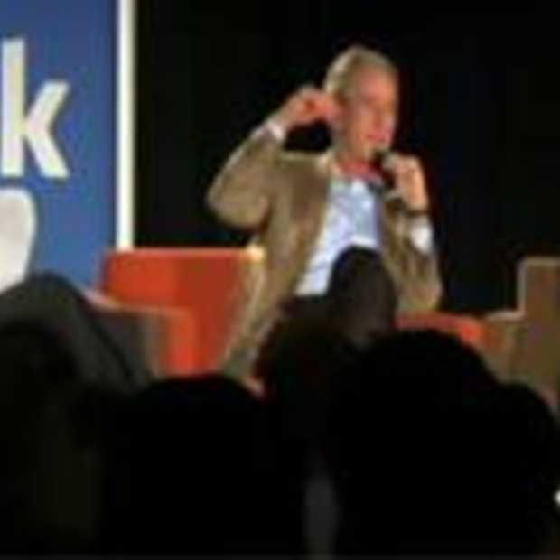 Zuckerberg interviewt George W. Bush