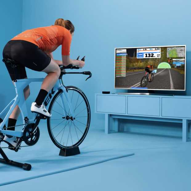 Virtueel wielrennen met Zwift is steeds leuker: nieuwe routes toegevoegd