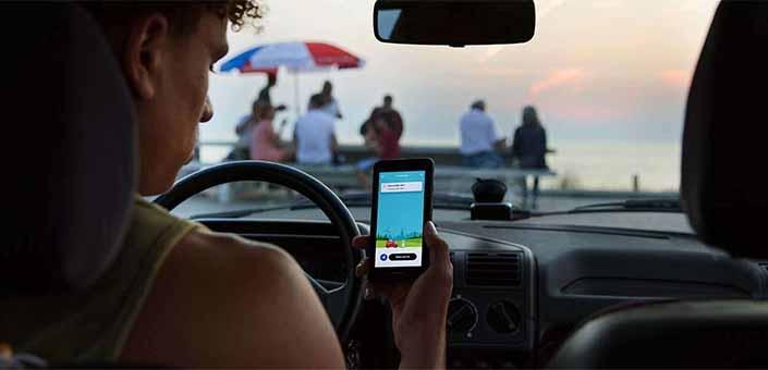 Dit is de beste app om je niet te laten afleiden tijdens het rijden